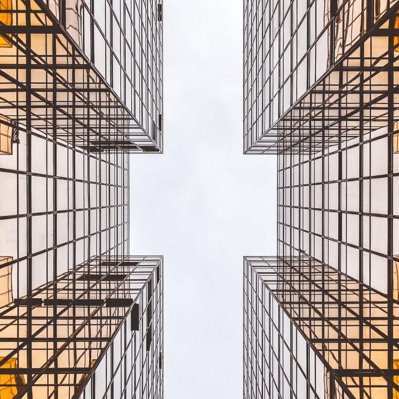 Architektur-Weitblick